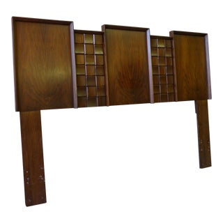 Paul Evans Brutalist Queen Headboard