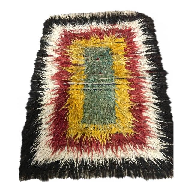 "Image of Bellwether Rugs Vintage Turkish Toloo Kilim Rug - 3'2"" x 4'10"