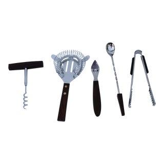 Mid-Century Bar Tools - Set of 5