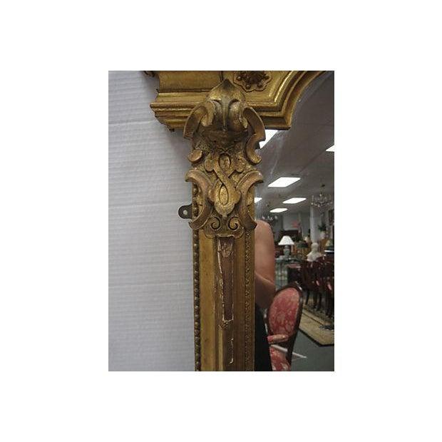 19th C. Gold Gilt Pier Mirror - Image 5 of 7