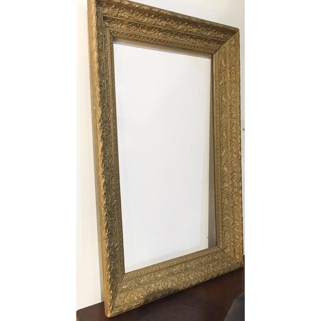 Large Antique Gilt Wood Frame - Image 2 of 8