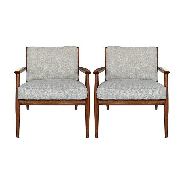 Image of Mid Century Danish Modern Lounge Chairs