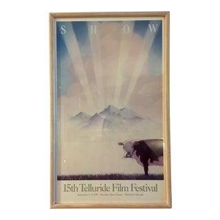 Vintage 1988 Telluride Film Festival Poster