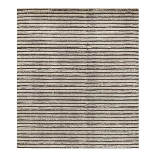 Striped Gray Dash & Albert Rug - 10' x 14'