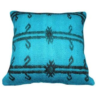 Blue Turkish Kilim Pillow