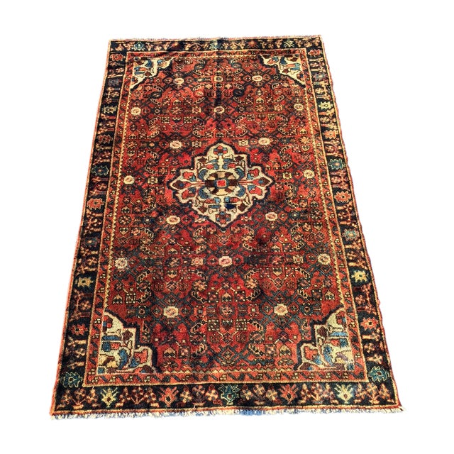 Hoseinabad Persian Rug - 3′ × 5′1″ - Image 1 of 10