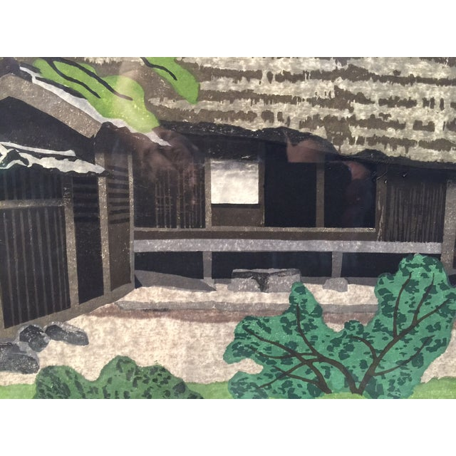 Takehiko Hironaga Large Woodblock Print - Image 5 of 8