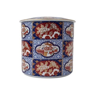 Imari Arita Stacking Boxes - Set of 3