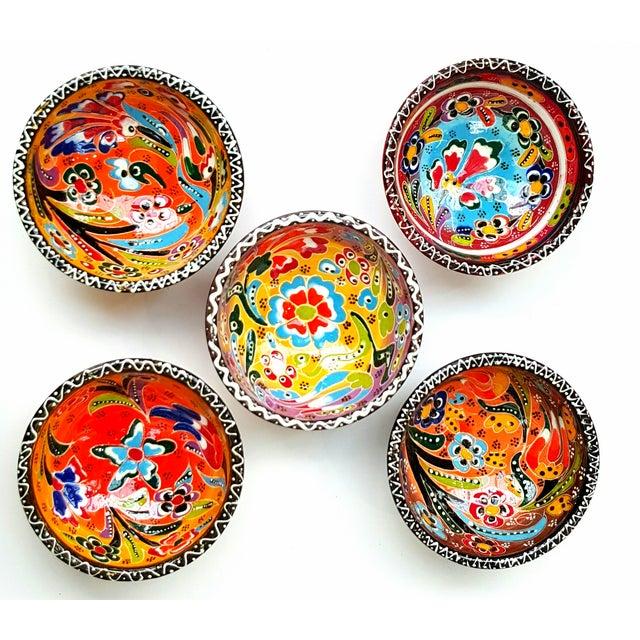 Turkish Tile Bowls - Set of 5 - Image 2 of 4