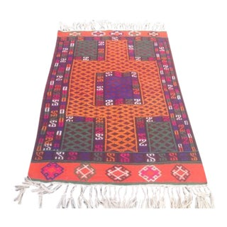 Traditional Medallion Design Rug - 3′4″ × 4′9″