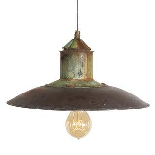 Danish Copper Pendant Lamp