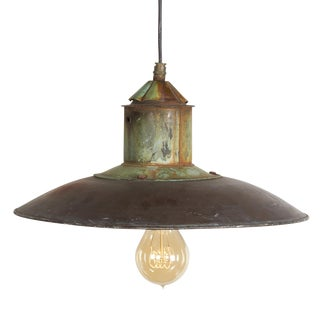 Danish Copper Pendant Lamp