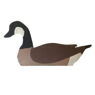 Vintage Goose Decoy Folk Art