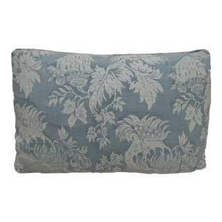 Single Blue & White Fortuny Pillow