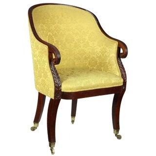 Classical Mahogany Tub Chair