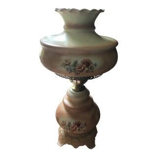 Vintage Hurricane Parlor Lamp