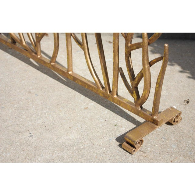 Twig Gilt Painted Fire Screen - Image 6 of 6