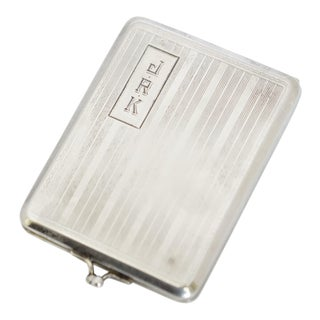 Elgin AM Mfg. Co. Art Deco Sterling Silver Match Holder