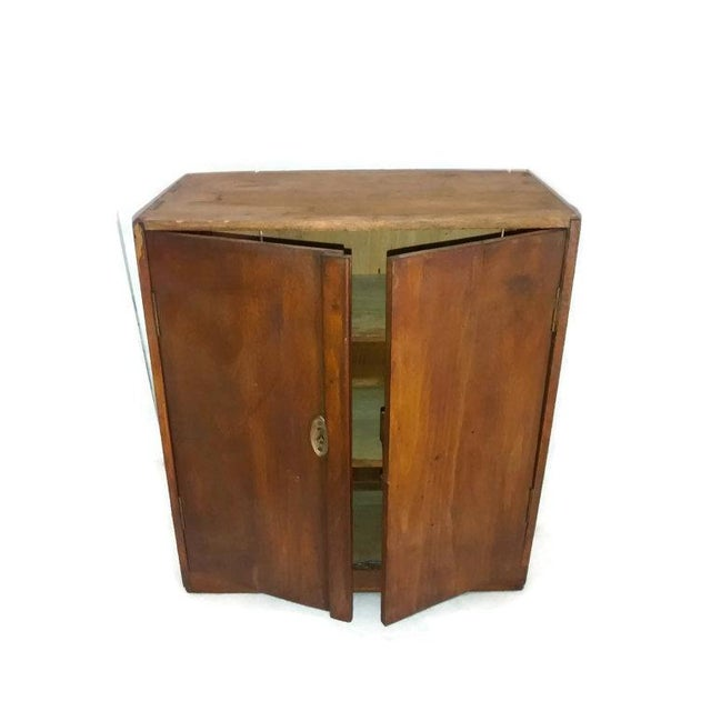 Image of Primitive New England Antique Cabinet Shaker Style