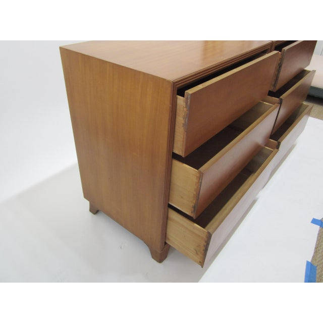 Flared Leg Chests of Drawers - A Pair - Image 9 of 10