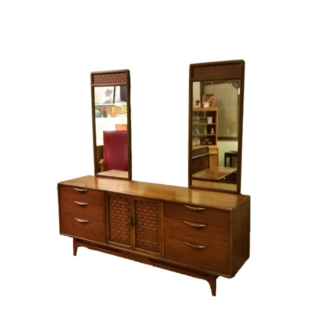 "Warren Church for Lane ""Perception "" Dresser With Mirrors - Image 9 of 9"