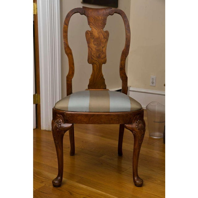 Antique Queen Anne Style Side Chair - Image 3 of 9
