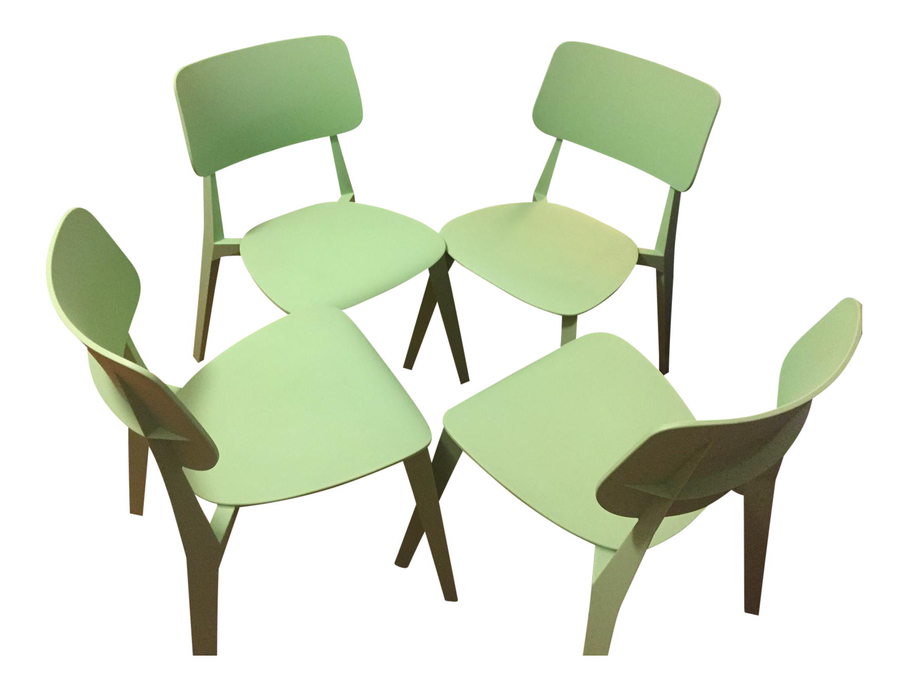 Green Chairs Vintage U0026 Used Dining Chairs | Chairish