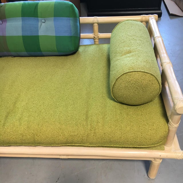 McGuire Rattan Daybed Set - Image 6 of 8