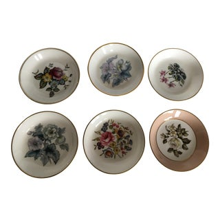 Royal Worcester Coaster Small Dishes - Set of 6