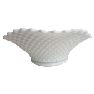 Fenton Diamond Hobnail Serving Bowl