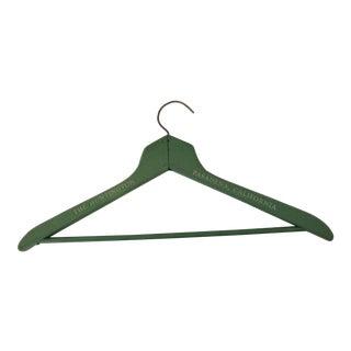 1930s The Huntington Pasadena Coat Hanger