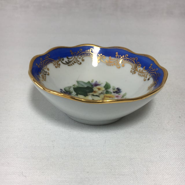 French Limoges Floral Dish - Image 4 of 6