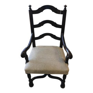 Louis Xlll Wood Ladder Back Chair
