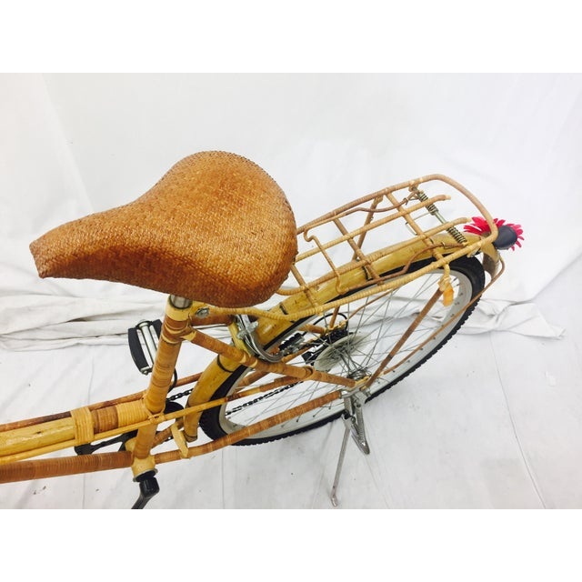 Vintage Bamboo Bicycle - Full Size - Image 9 of 11