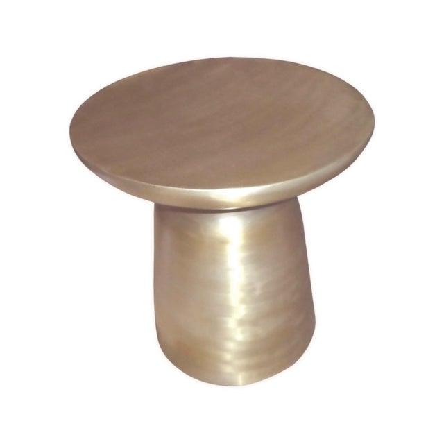 Image of Golden Powder Coated Aluminium Miami Stool