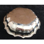 Image of Tiffany Silver Plate Dish with Scalloped Edge