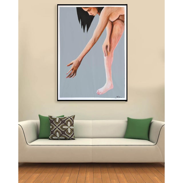 Contemporary Acrylic Painting - Reach - Image 7 of 9