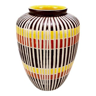 "Ilse Stephan for Schlossberg of Germany ""Kuba"" Ceramic Vase"