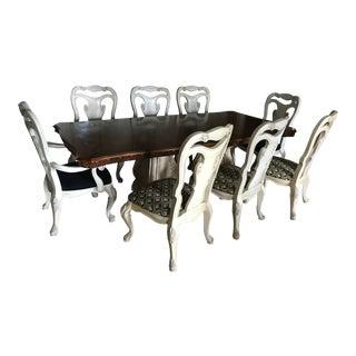 Thomasville Dining Set, Set of 9