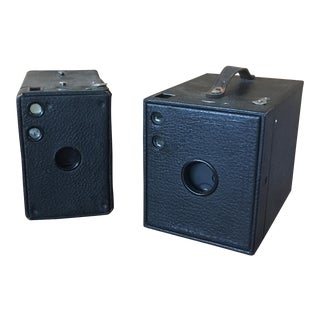 Vintage Cameras for Display - Pair