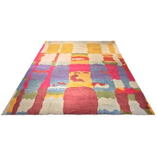 "Turkish Tulu Multicolor Rug - 9'7"" x 13'"