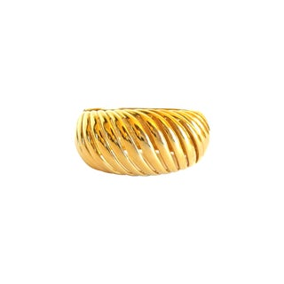 Givenchy Gold Tone Bangle Bracelet