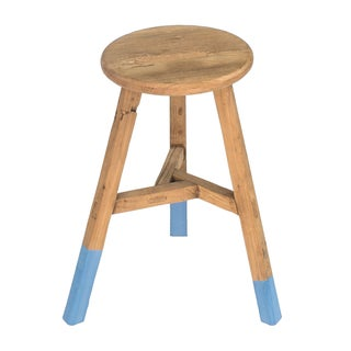 Sarreid LTD Reclaimed Elm Round Stool
