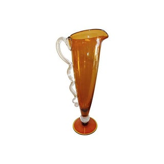 Venetian Glass Pitcher