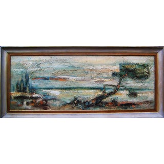 Melvin Hillger Carmel California Seascape Painting