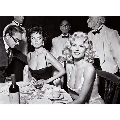 Heidi Klum (as Jayne Mansfield), New York, black and white photography print by Mark Seliger - Image 1 of 3