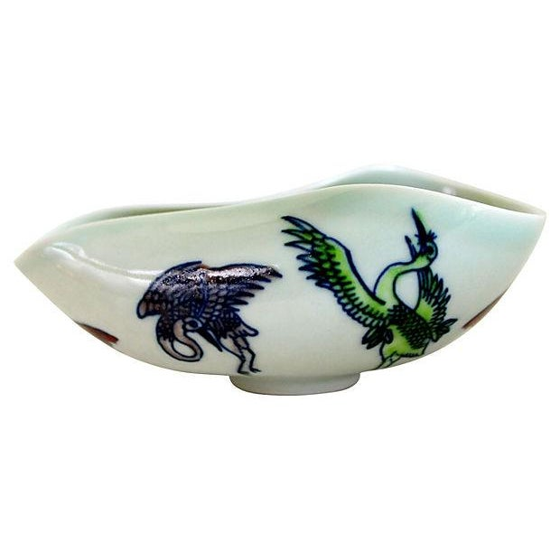 Antique Ming Calligraphy Water Dish - Image 2 of 5