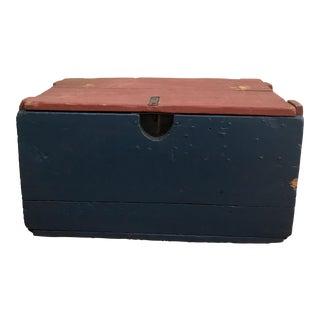 Pre-1930 Ice Fishing Box