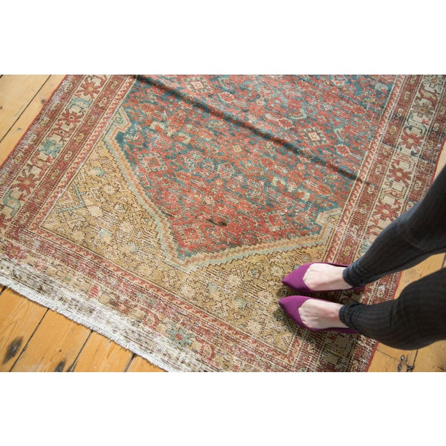 """Antique Malayer Rug - 4'1"""" x 6'7"""" - Image 3 of 10"""