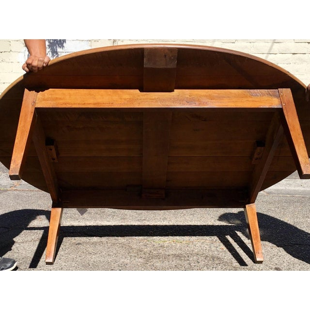 Antique Italian Country Cherry Coffee Table